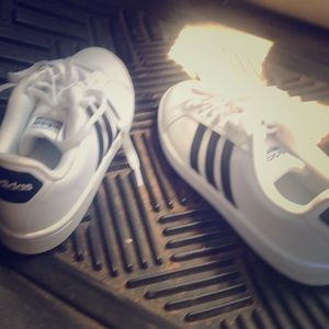 Adidas shoes. Worn once.